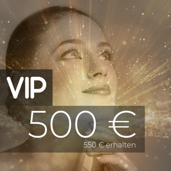 VIP Gutschein 500