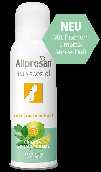 Allpresan Fuß spezial Original Schaum-Creme