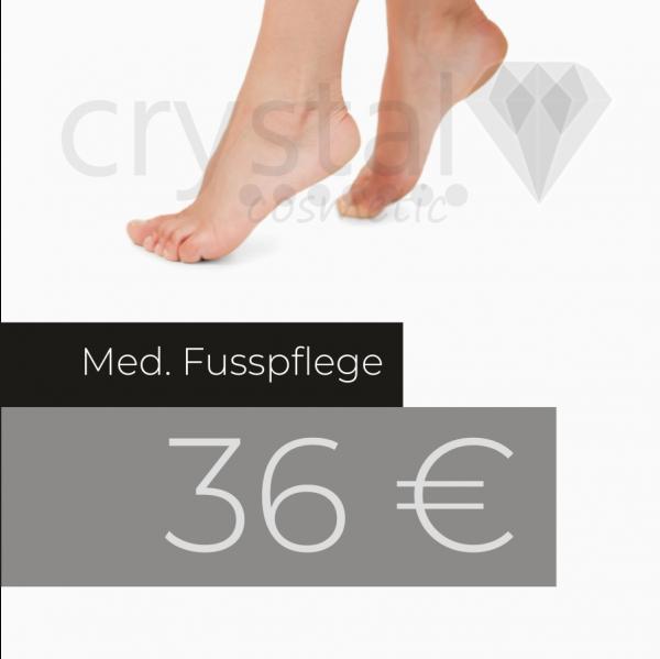 Gutschein med. Fußpflege
